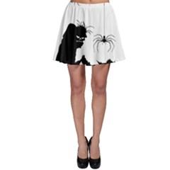 Halloween Skater Skirt by Valentinaart