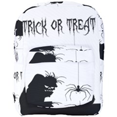 Halloween Full Print Backpack by Valentinaart