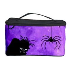 Halloween Cosmetic Storage Case by Valentinaart