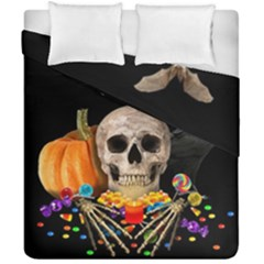 Halloween Candy Keeper Duvet Cover Double Side (california King Size) by Valentinaart