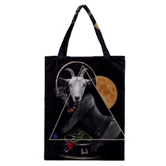 Spiritual Goat Classic Tote Bag by Valentinaart