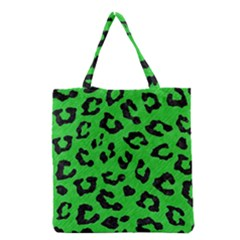 Skin5 Black Marble & Green Colored Pencil Grocery Tote Bag by trendistuff