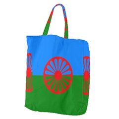 Gypsy Flag Giant Grocery Zipper Tote by Valentinaart
