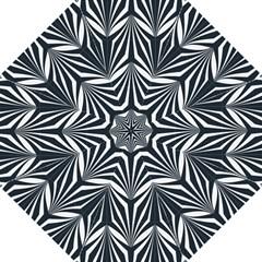 Art Deco, Black,white,graphic Design,vintage,elegant,chic Hook Handle Umbrellas (large) by 8fugoso