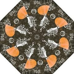 Vintage Halloween Hook Handle Umbrellas (medium) by Valentinaart