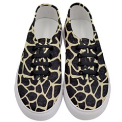 Skin1 Black Marble & Light Sand (r) Women s Classic Low Top Sneakers