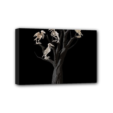 Dead Tree  Mini Canvas 6  X 4  by Valentinaart