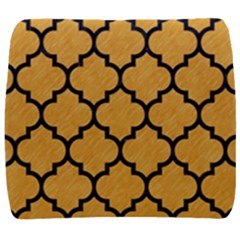 Tile1 Black Marble & Orange Colored Pencil (r) Back Support Cushion by trendistuff