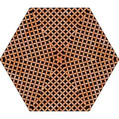 Circles3 Black Marble & Orange Watercolor (r) Mini Folding Umbrellas by trendistuff