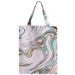Abstract Marble 1 Zipper Classic Tote Bag by tarastyle