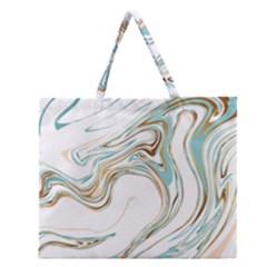 Abstract Marble 1 Zipper Large Tote Bag by tarastyle
