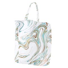 Abstract Marble 1 Giant Grocery Zipper Tote by tarastyle