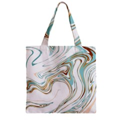 Abstract Marble 1 Zipper Grocery Tote Bag by tarastyle