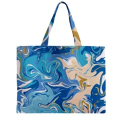 Abstract Marble 2 Zipper Mini Tote Bag by tarastyle