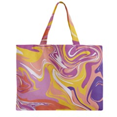 Abstract Marble 5 Zipper Mini Tote Bag by tarastyle