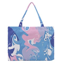 Abstract Marble 10 Zipper Medium Tote Bag by tarastyle