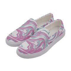 Abstract Marble 12 Women s Canvas Slip Ons by tarastyle