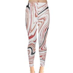 Abstract Marble 13 Leggings  by tarastyle
