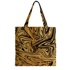 Abstract Marble 16 Zipper Grocery Tote Bag by tarastyle