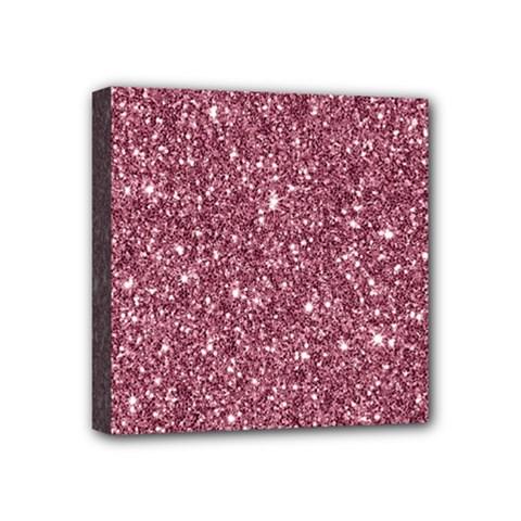New Sparkling Glitter Print C Mini Canvas 4  X 4  by MoreColorsinLife