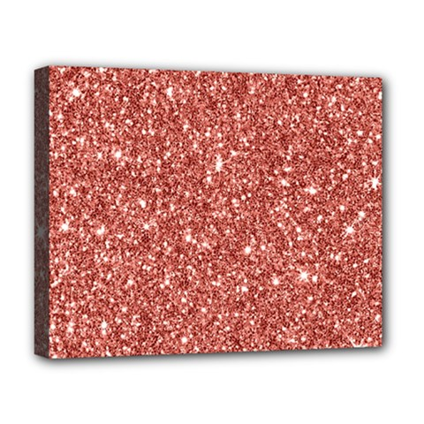 New Sparkling Glitter Print B Deluxe Canvas 20  X 16   by MoreColorsinLife