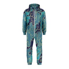 Abstract Nature 10 Hooded Jumpsuit (kids) by tarastyle
