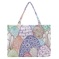 Abstract Nature 12 Zipper Medium Tote Bag by tarastyle