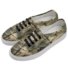 Grannys Hut   Structure 2a Women s Classic Low Top Sneakers by MoreColorsinLife