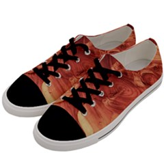 Fantastic Wood Grain 917b Men s Low Top Canvas Sneakers by MoreColorsinLife