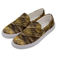 Grannys Hut   Structure 1a Men s Canvas Slip Ons by MoreColorsinLife