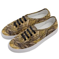 Grannys Hut   Structure 1a Women s Classic Low Top Sneakers by MoreColorsinLife
