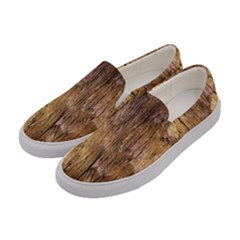 Grannys Hut   Structure 3a Women s Canvas Slip Ons by MoreColorsinLife