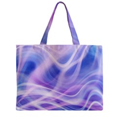 Abstract Graphic Design Background Zipper Mini Tote Bag by Onesevenart