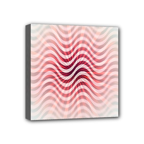 Art Abstract Art Abstract Mini Canvas 4  X 4  by Onesevenart