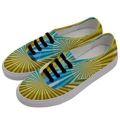 Abstract Art Art Radiation Men s Classic Low Top Sneakers by Onesevenart
