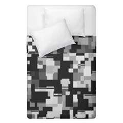 Noise Texture Graphics Generated Duvet Cover Double Side (single Size) by Onesevenart