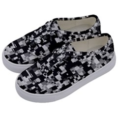 Noise Texture Graphics Generated Kids  Classic Low Top Sneakers by Onesevenart