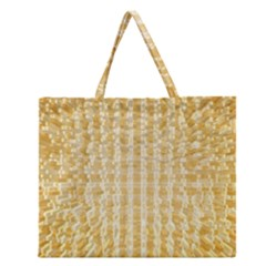 Pattern Abstract Background Zipper Large Tote Bag by Onesevenart