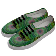 Wire Woven Vector Graphic Men s Classic Low Top Sneakers by Onesevenart