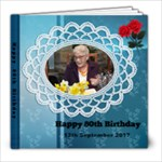 80th birthday - 8x8 Photo Book (20 pages)