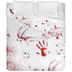Massacre  Duvet Cover Double Side (california King Size) by Valentinaart