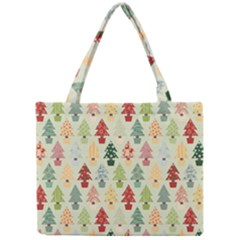 Christmas Tree Pattern Mini Tote Bag by Valentinaart