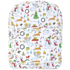 Christmas Pattern Full Print Backpack by Valentinaart