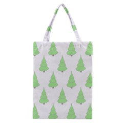 Background Christmas Christmas Tree Classic Tote Bag by Onesevenart