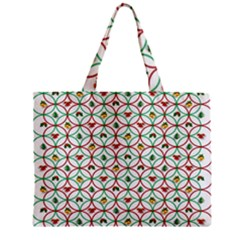 Christmas Decorations Background Zipper Mini Tote Bag by Onesevenart