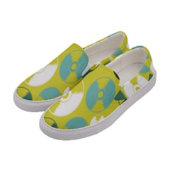 Streaming Forces Music Disc Women s Canvas Slip Ons by Alisyart