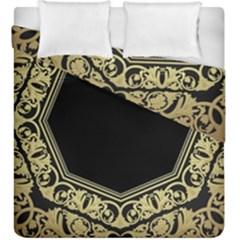 Art Nouvea Antigue Duvet Cover Double Side (king Size) by 8fugoso