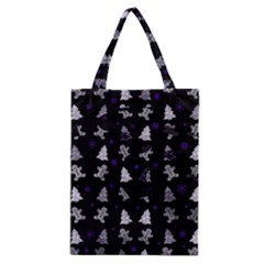 Ginger Cookies Christmas Pattern Classic Tote Bag by Valentinaart