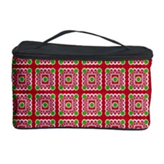 Christmas Paper Wrapping Paper Cosmetic Storage Case by Onesevenart