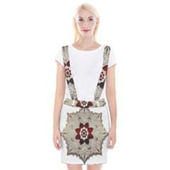 Jewelry Jewel Gems Gemstone Shine Braces Suspender Skirt by Onesevenart